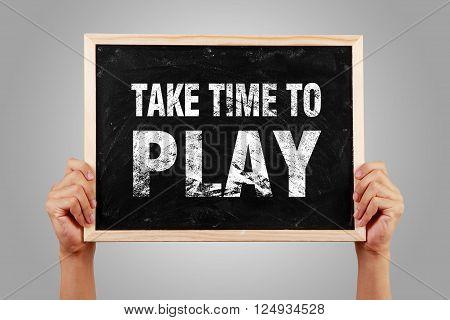 Take Time To Play