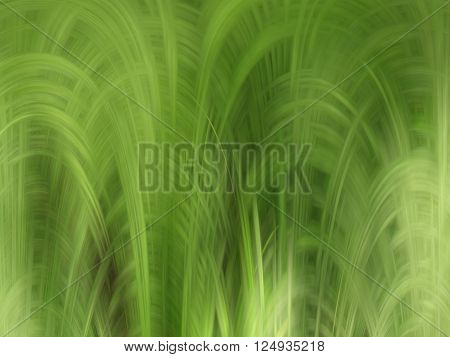 Abstract background in a fresh green tones