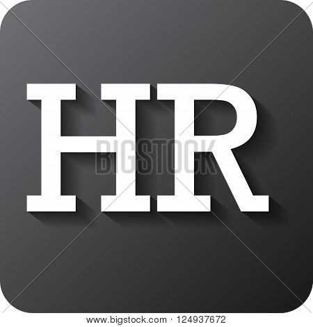 Human resources sign icon. HR symbol. Workforce of business organization. Vector eps 10