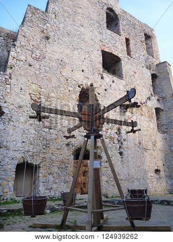 old castle stari grad in celje in slovenia