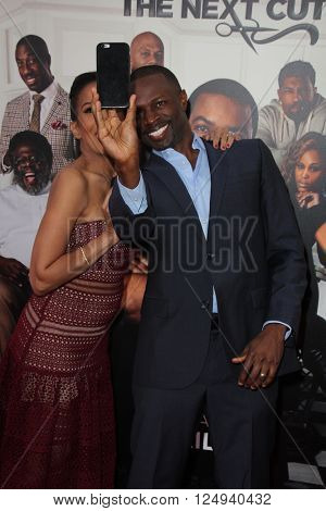 LOS ANGELES - APR 6:  Sean Patrick Thomas at the Barbershop - The Next Cut Premiere at the TCL Chinese Theater on April 6, 2016 in Los Angeles, CA