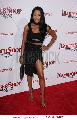 LOS ANGELES - APR 6:  Golden Brooks at the Barbershop - The Next Cut Premiere at the TCL Chinese Theater on April 6, 2016 in Los Angeles, CA