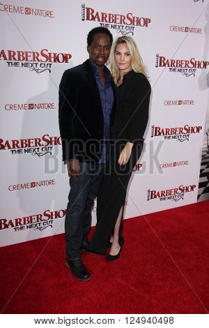 LOS ANGELES - APR 6:  Harold Perrineau at the Barbershop - The Next Cut Premiere at the TCL Chinese Theater on April 6, 2016 in Los Angeles, CA