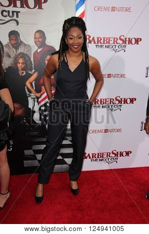 LOS ANGELES - APR 6:  Tiffany Haddish at the Barbershop - The Next Cut Premiere at the TCL Chinese Theater on April 6, 2016 in Los Angeles, CA
