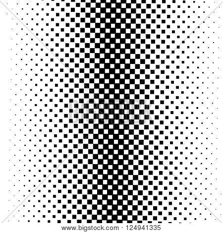 Seamless monochrome square pattern illustration esp 10