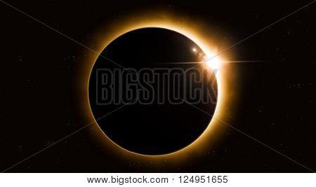 Space Solar Eclipse