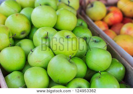 Apple Organic Healty Fruit