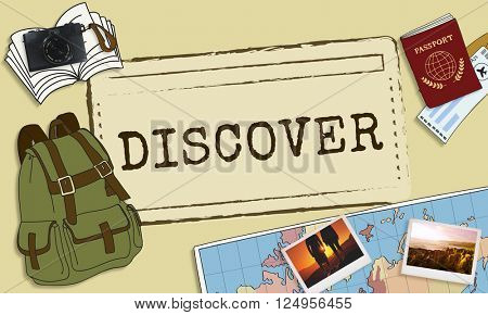 Discover Discovery Exposure Travel Life Concept