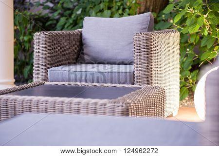Elegant Rattan Garden Furniture