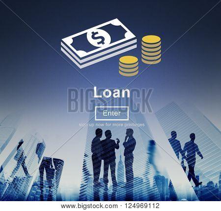 Loan Banking Capital Debt Economy Money Borrow Concept