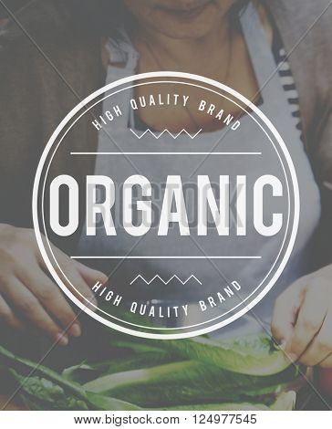 Organic Healthy Freshness Diet NAtural Concept