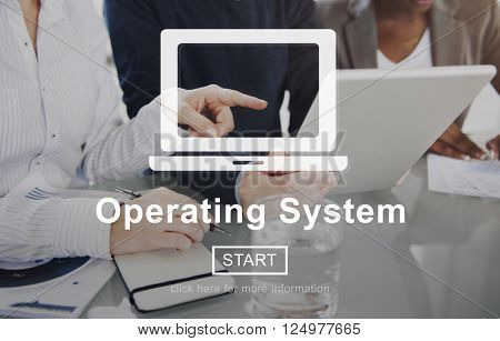 Operating System Operate Operation Working Concept