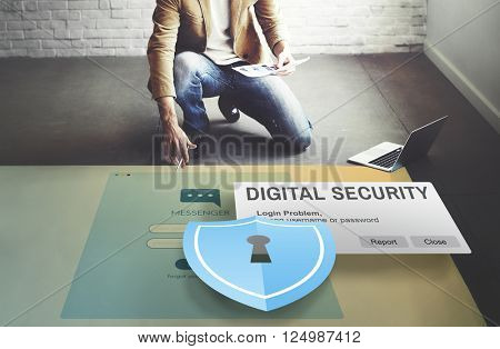 Digital Security Protocol Protection Technology Concept
