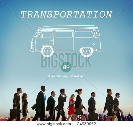 Transportation Travel Automobile Vehicle Concept