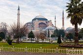 Постер, плакат: Мечеть Святой Софии Стамбул Турция