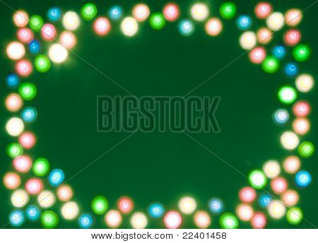 blur lights , defocused background with space for your text