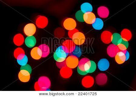 blur lights defocused