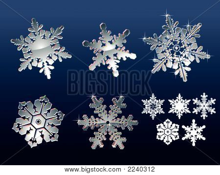 Real Snowflakes
