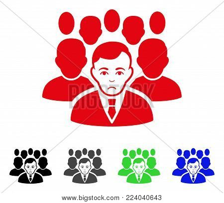 Dolor Crowd vector