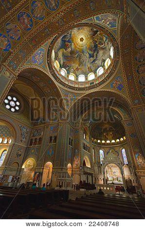 Interior Of The Votive Church