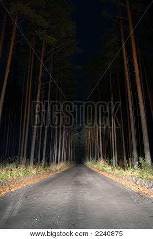 Weird Road.