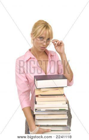 Blonde Librarian