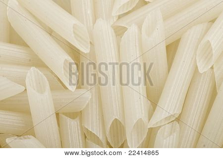 white pasta rice