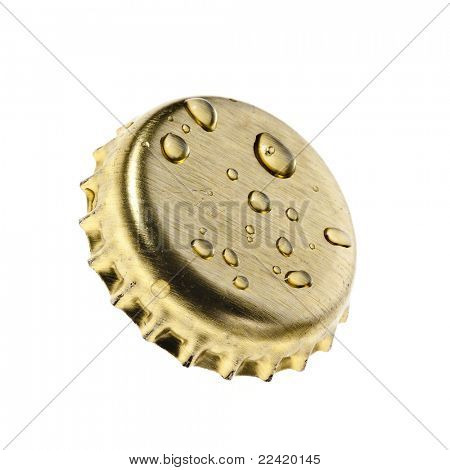 beer bottle cap Isolated on white background