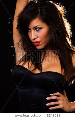Attractive Brunette