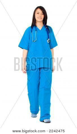 Mujer enfermera
