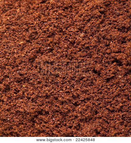 coffee powder texture