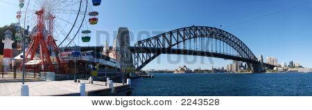 Sydney Harbor Panorama
