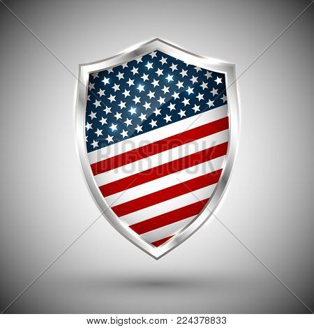 Presidents day shield