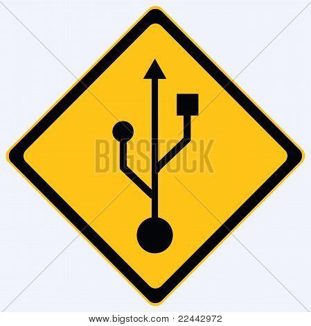 Usb sign