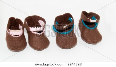 Baby Shoes Girl And Boy