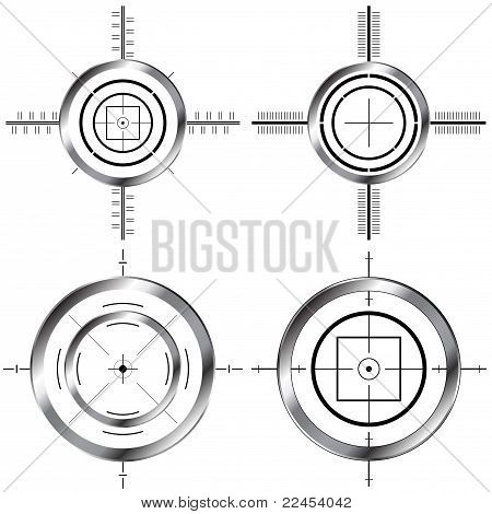 Gun Sight Set