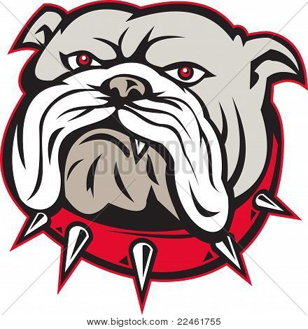 Bulldog Head Front