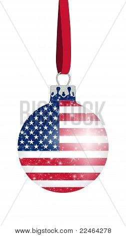 Christmas ball - USA