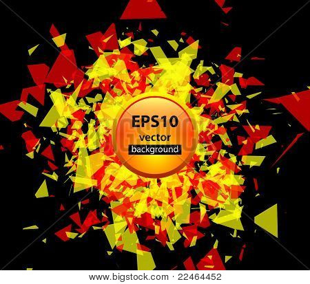 Color abstract vector background