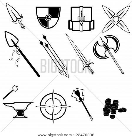 Indie Game Symbols