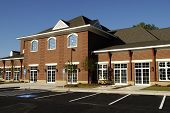 image of medical office  - New commercial building with retail medical and office space available for lease - JPG