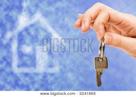 Key Over Blue Sky