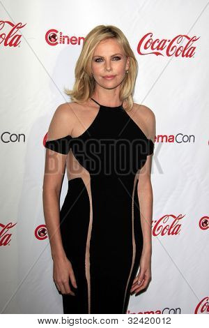 LAS VEGAS - APR 26: Charlize Theron at the 2012 CinemaCon Big Screen Achievement Awards at the Caesars Palace Hotel at Caesars Palace on April 26, 2012 in Las Vegas, Nevada