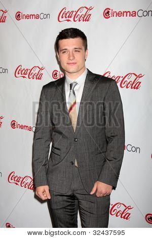 LAS VEGAS - APR 26:  Josh Hutcherson arrives at the CinemaCon 2012 Talent Awards at Caesars Palace on April 26, 2012 in Las Vegas, NV