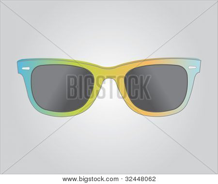 Retro colorful sunglasses