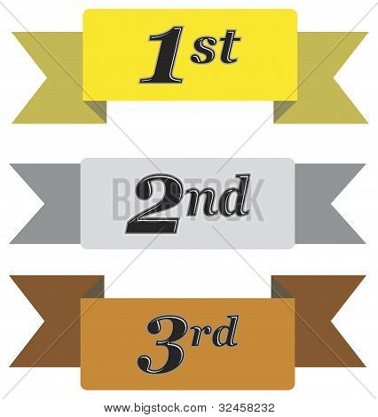 Winners Ribbons