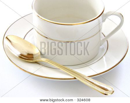 Coffee Cup Saucer And Spoon3
