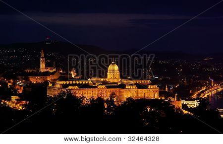 Royal Residence In Budapest