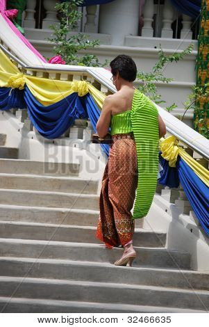 Thai Fashion At Ceremony