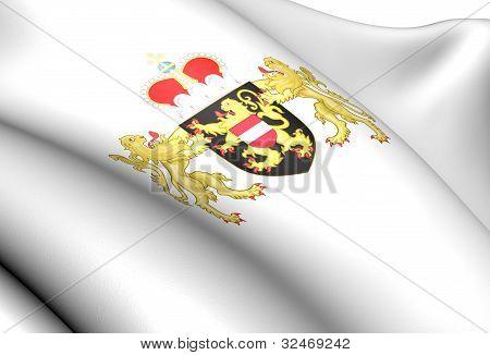 Flemish Brabant Coat Of Arms, Belgium.